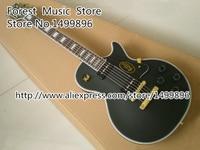 최고 판매 매트 블랙 바인딩 기타 바디 LP 사용자 정의 전기 기타 중국 왼손잡이