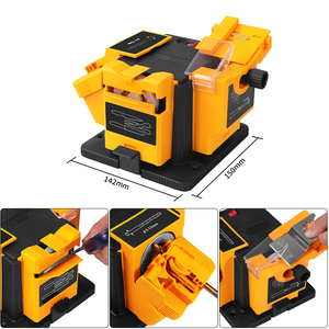 Image 4 - Working For Knives Scissors & Planer iron&Drills 96w Electric Knife Sharpener Multifunction Sharpener