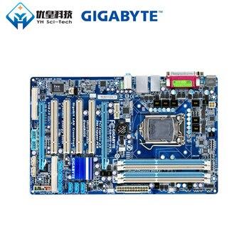 Gigabyte GA-P55-US3L Intel H55 Original Used Desktop Motherboard LGA 1156 Core i7 i5 i3 DDR3 16G SATA3 USB2.0 ATX