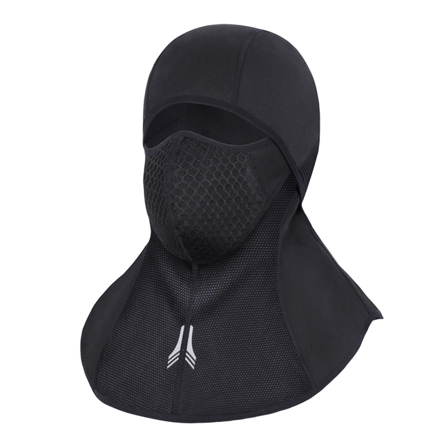 Winter Cycling Face Mask Guard Scarf Warm Cap Thermal Fleece Full Face Mask Outdoor Neck Protecting Mask Scarf