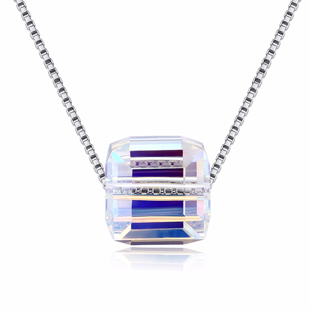 Fashion Long Fishing Line Chain Necklace Fine Jewelry Crystals From Swarovsk Female Pendant Chain Simple Sugar Crystal Necklace Fashion Long Fishing Line Chain Necklace Fine Jewelry Crystals From Swarovsk Female Pendant Chain Simple Sugar Crystal Necklace