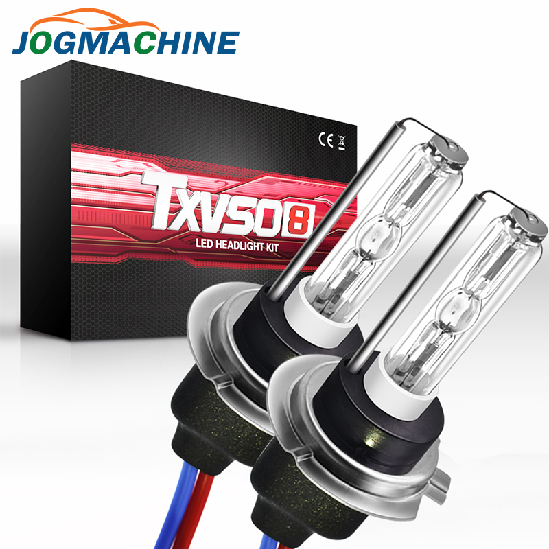 JOGMACHINE 2Pcs Kit Xenon Headlights  H7 35w 50w Hid Xenon Replacement Bulbs 4300K 5000K 6000K 8000K 10000K 12000K Car Headlight