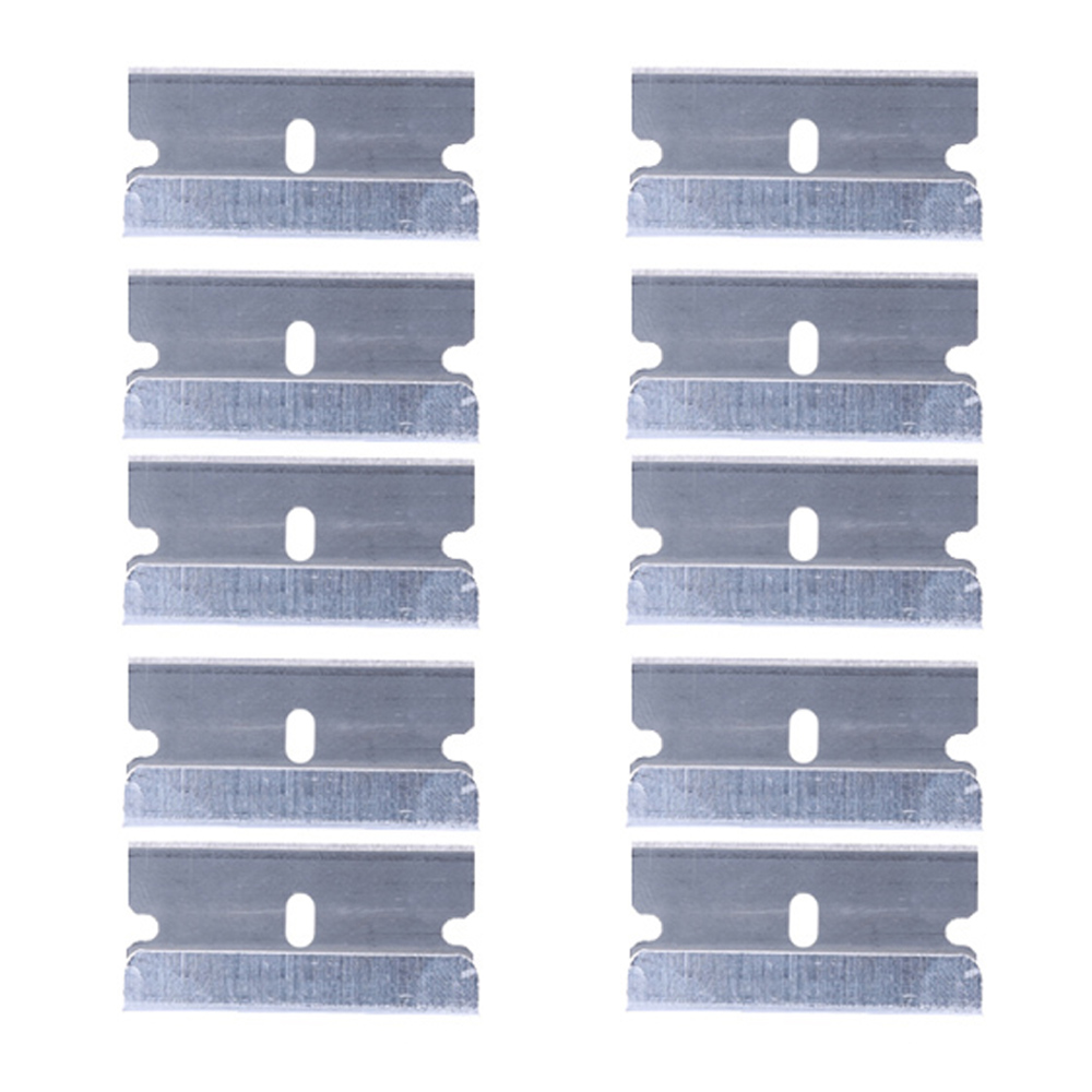 10pcs/lot Metal Blade Glue Residue Cleaning Tools For IPhone Samsung Mobile Phone LCD Glue Remover Scraper (NO Handle)