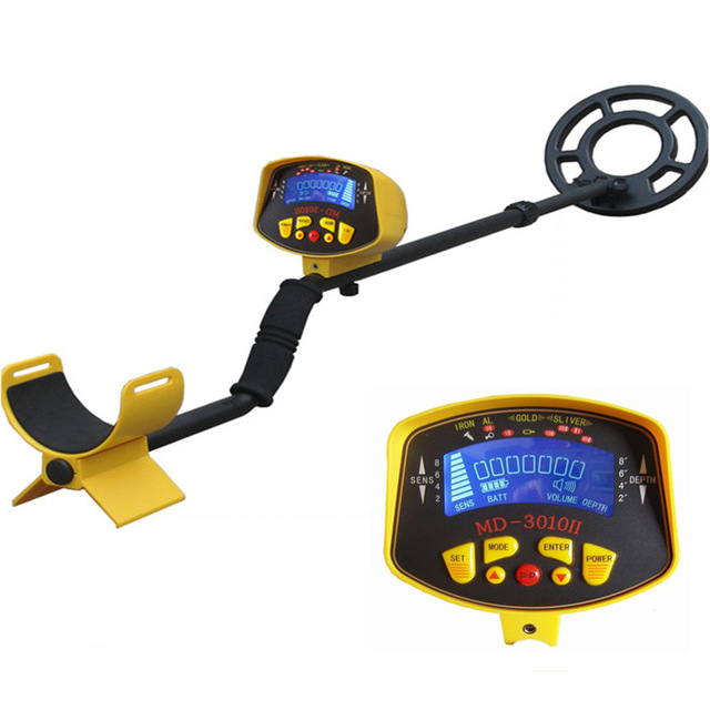 Free Shipping!High Performance Underground Metal Detector <font><b>MD3010</b></font> Gold Digger for Gold Relics and Treasure Gold Hunt!!! image