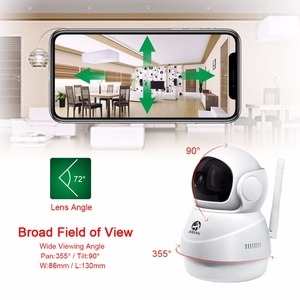 Image 2 - JOOAN Wireless IP Kamera 1080P HD smart WiFi Home Security IRCut Vision Video Überwachung CCTV Pet Kamera Baby Monitor