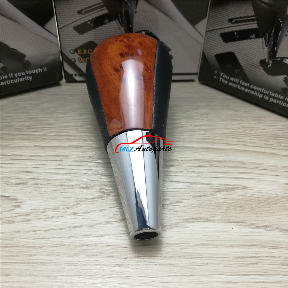 Mahogany Look Car Automatic Gear Shift Knob Head