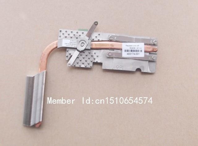 Free shipping NEW original cooling heatsink for hp 6535S 6735S laptop cooling Thermal CPU Radiator 493174-001 6043B0044103