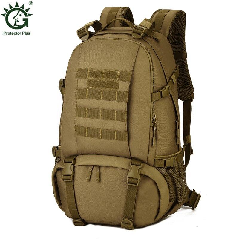 Nouveau hommes Camouflage sac à dos Trekking militaire sacs à dos noir voyage étanche sac à dos armée vert homme sac à dos Nylon