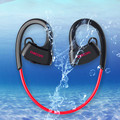 Dacom p10 ipx7 impermeable auriculares bluetooth auriculares natación auricular del gancho del oído correr versión general para ios 7 y android