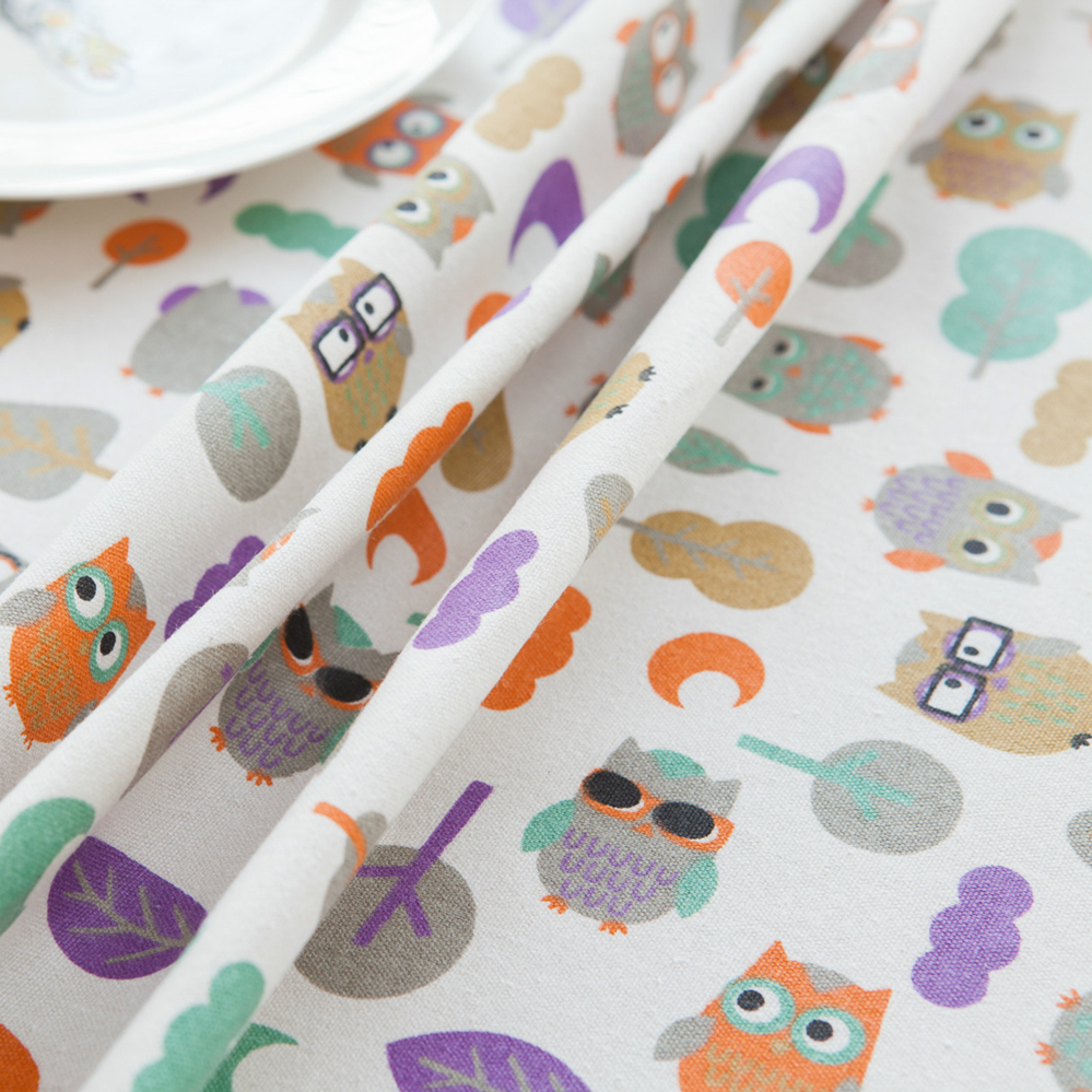 Fabric Home & Garden Lovely 50x150cm Bear Cotton Fabric Table Cloth Diy Handmade Sewing Pillow Cover Patchwork Sofa Curtain Tablecloth Kids Bag Wallet