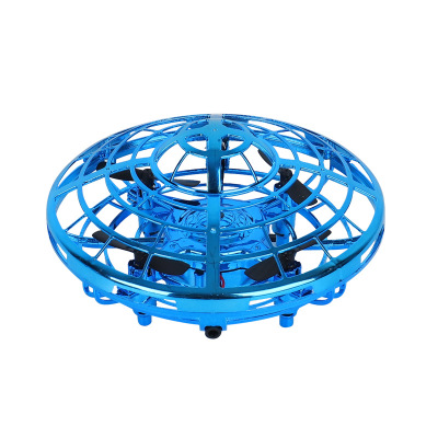 Hand-Controlled Flying Helicopter UFO RC Drone Infrared Induction Aircraft Flying Fairy Upgrade RC Toys For Kids 3
