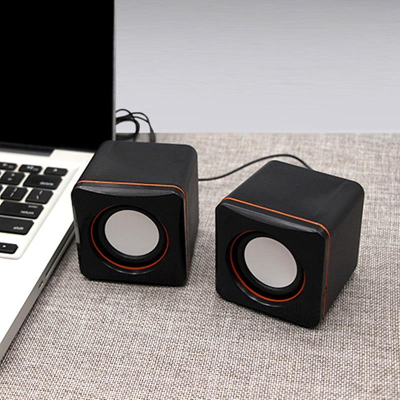 лучшая цена 2018 USB mini computer speaker Desktop notebook small speaker portable speaker cheap dual speakers with retail package