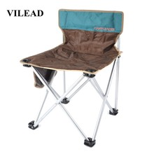 VILEAD Portable Folding Camping Chair One-piece design Fishing Picnic Beach Outdoor Garden Seat High Load Ultralight 57*40*39cm