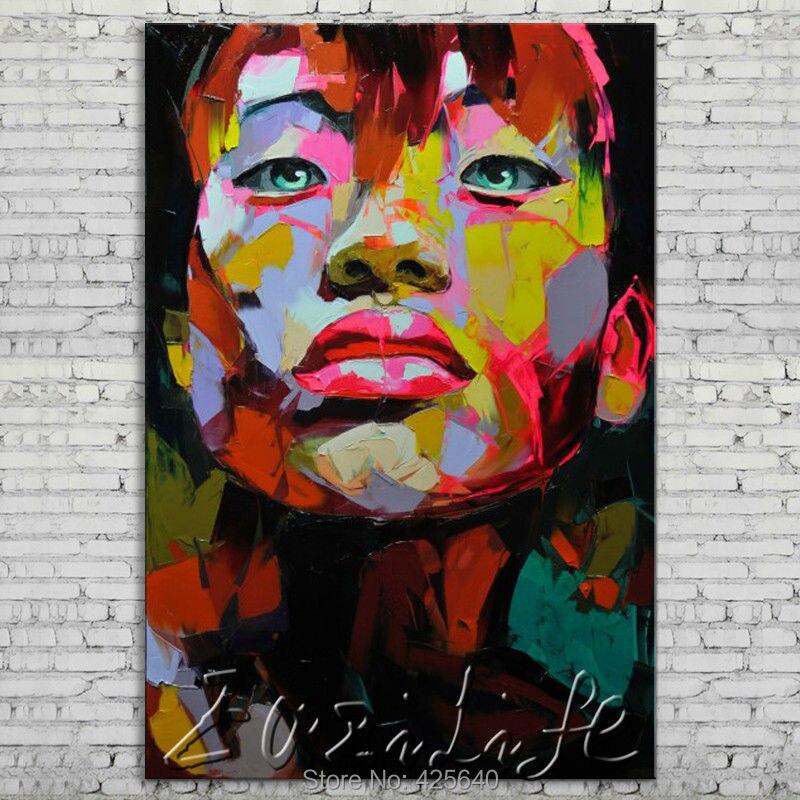 Palette font b knife b font painting portrait Palette font b knife b font Face Oil