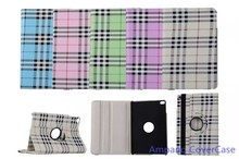 Scottish tartan Cases for iPad mini 4 Slim Smart Flip Cover for iPad mini 4 Case Rotating Cover for iPad Case 8 inch with Holder
