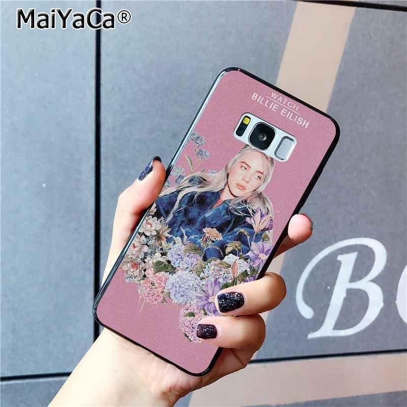 MaiYaCa เพลงนักร้อง Star Billie Eilish สำหรับ Samsung Galaxy S8 S7 edge S6 S10Plus S10lite S10E S9 plus