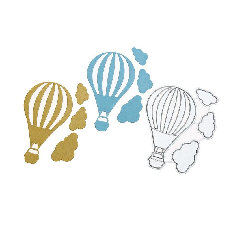 fire balloon FOCutting Dies Stencil ScrapbookAlbum Paper Card EmbossingCraft FO