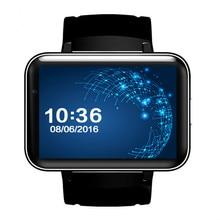 DM98 Smart Watch MTK6572 Android 4.4 OS 3G WIFI GPS Bluetooth 4.0 Support SIM Card Dual Core 4GB ROM Smartwatch PK LEM4