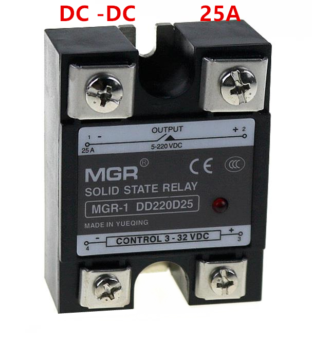 Mager SSR 25A DC-DC Solid state relay Quality Goods MGR-1 DD220D25 relay quality goods hhs13 h3y st6p 2 highest quality time relay jsz6 new pattern small volume of large number goods in stock