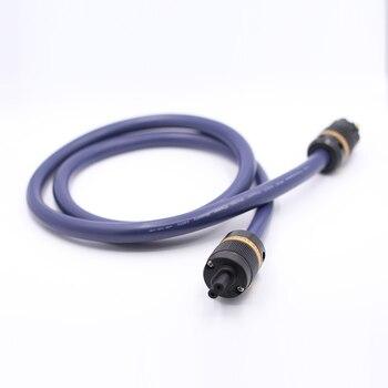 1piece P101 6N OCC AC power cable with VIBORG pure copper Power connectors figure 8 Power cable fingure 8 IEC connector