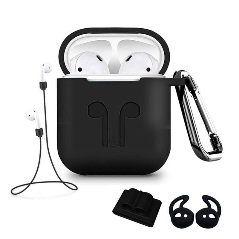 5Pcs/Set Silicone Wireless Bluetooth Earphones Case For Air Pods I10 I12 I20 I30  Earbud Earphone Accessories Protective Cover