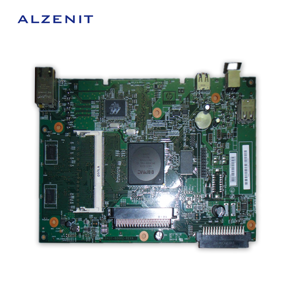 GZLSPART For HP P4015 HP4015 4015 Original Used Formatter Board Printer Parts On Sale original all in one printer parts network board for hp m4345mfp fax board q3701 60004 remove from new machine new version