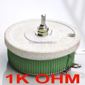 200 W 1 K OHM High Power Wirewound potenciômetro, Rheostat, Resistor variável, 200 Watts