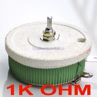 200W 1K OHM High Power Wirewound Potentiometer Rheostat Variable Resistor 200 Watts
