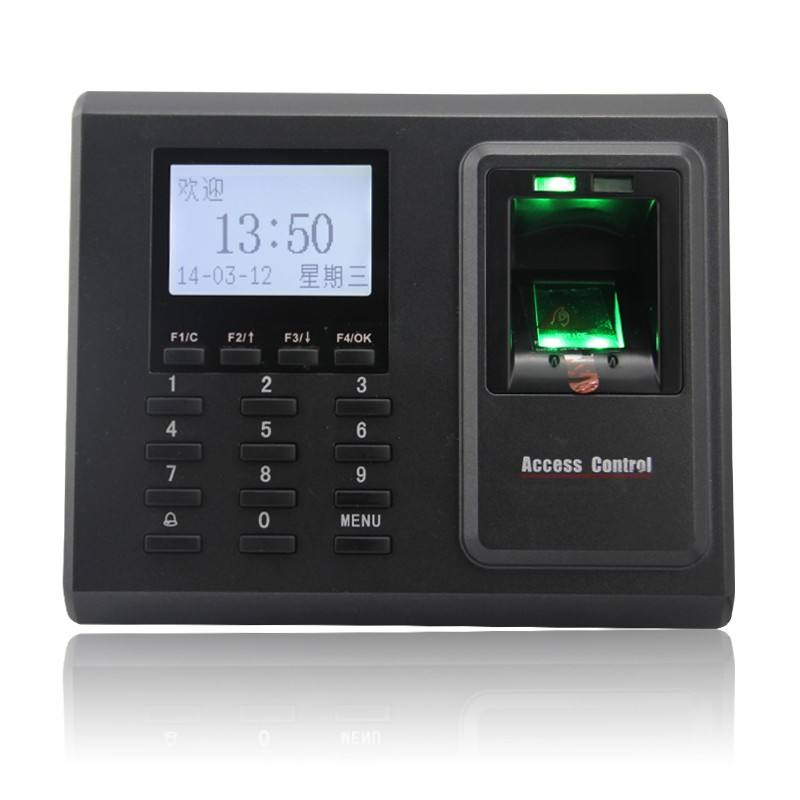 TCP/IP Biometric Fingerprint Access Control and Time Attendance with Free Software ZK F2 k14 zk biometric fingerprint time attendance system with tcp ip rfid card fingerprint time recorder time clock free shipping