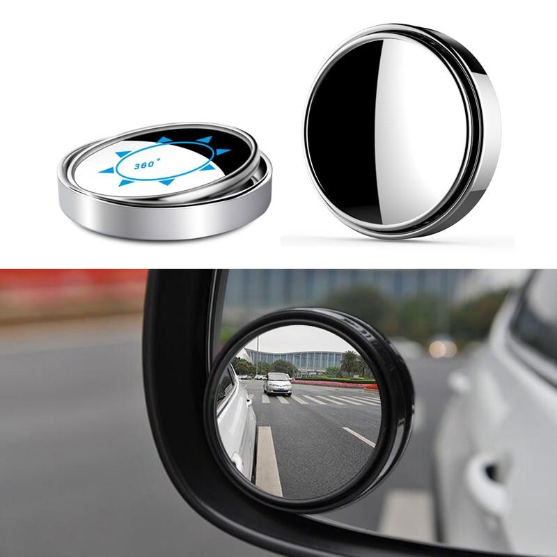 Bereidwillig Auto Styling Dodehoekspiegel Achteruitkijkspiegel Voor Kia Rio Ceed Sportage Mazda 3 6 Cx-5 Peugeot 206 307 308 207 Mooi En Kleurrijk