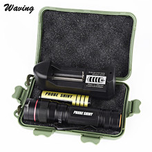 Bicycle Light With Rechargeable Battery Cycling Bike Head Front Light CREE XM L font b LED