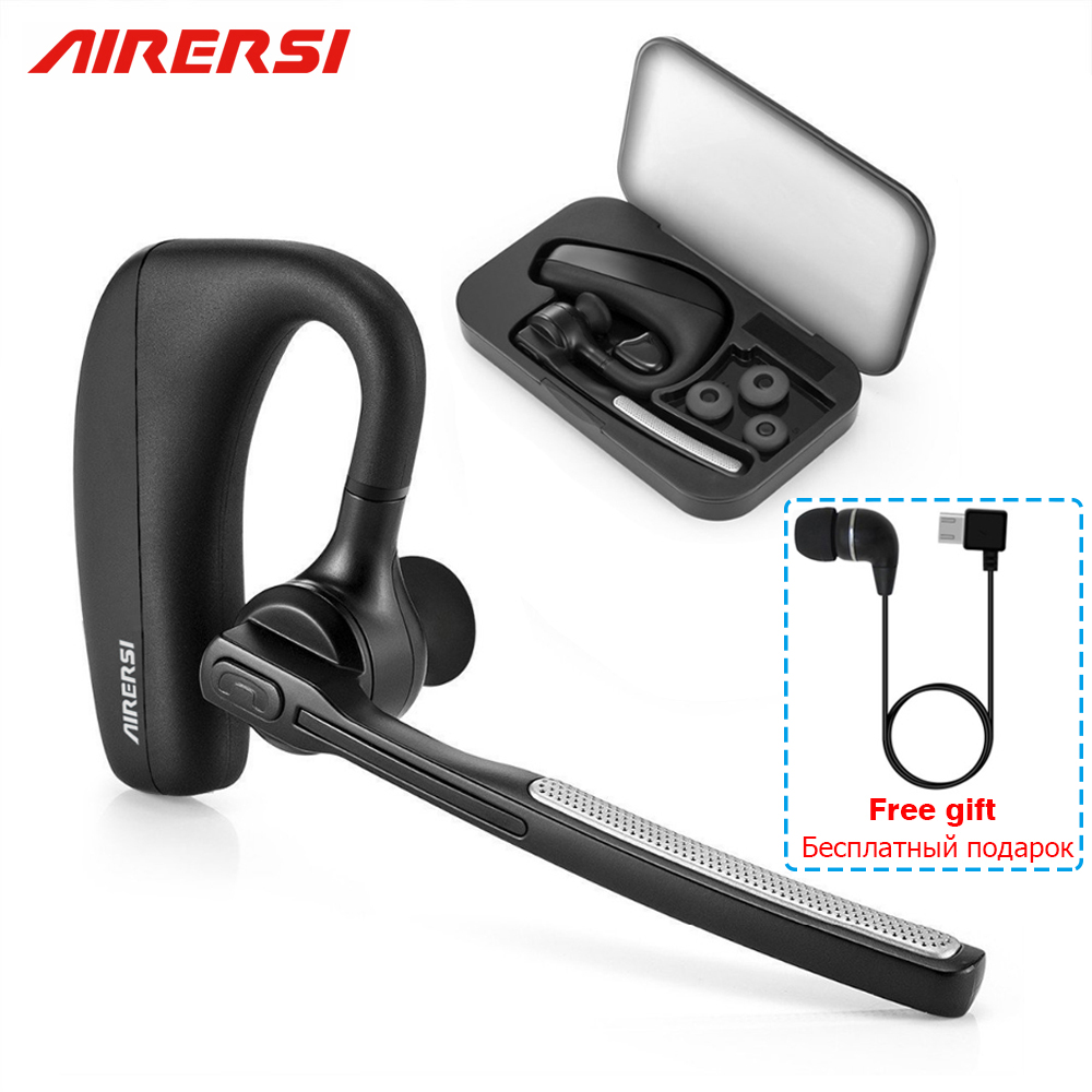2019 Newest K10 <font><b>Bluetooth</b></font> Earphone Wireless Headphones Stereo Handsfree Noise Reduction Headset HD Mic Earbuds Not <font><b>TWS</b></font> Earbuds image