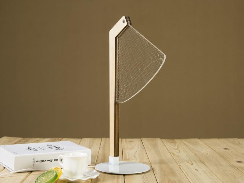 D lamp stereo vision kleine nachtlampje baby slaapkamer licht usb