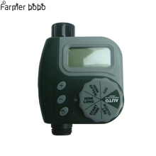 Large LCD Electronic Water Timer Garden Automatic Irrigation Controller Single-Dial Watering Timer riego automatico