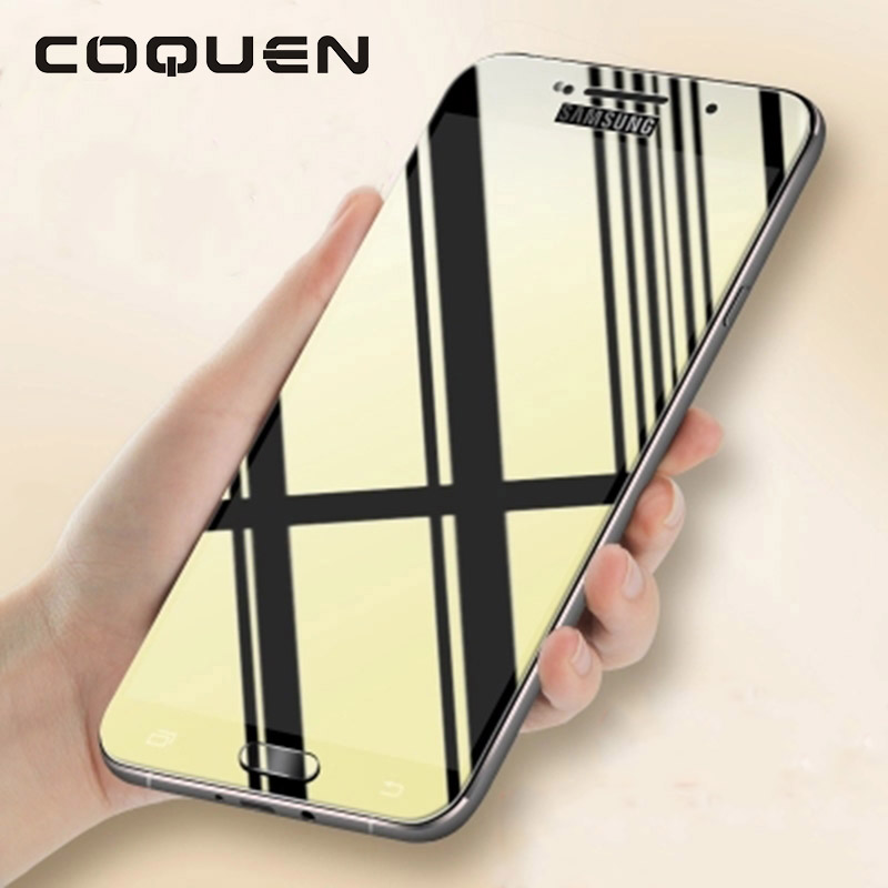 COQUEN Protective Glass For Samsung Galaxy A8 2018 Plus ...