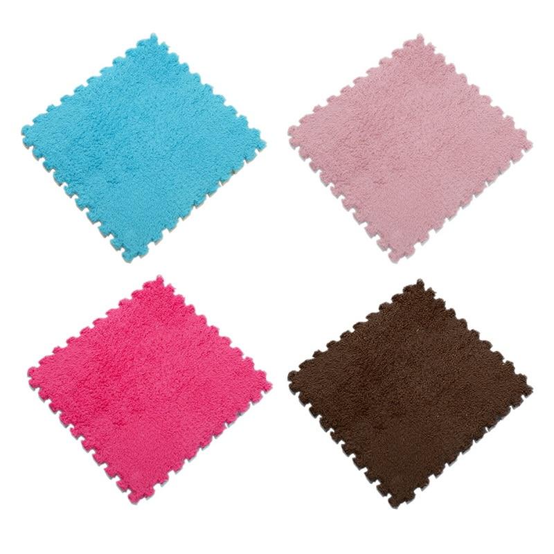 Velvet Boardwalk Ivory Brown Multi-Tonality Soft Shaggy Rug in various sizes