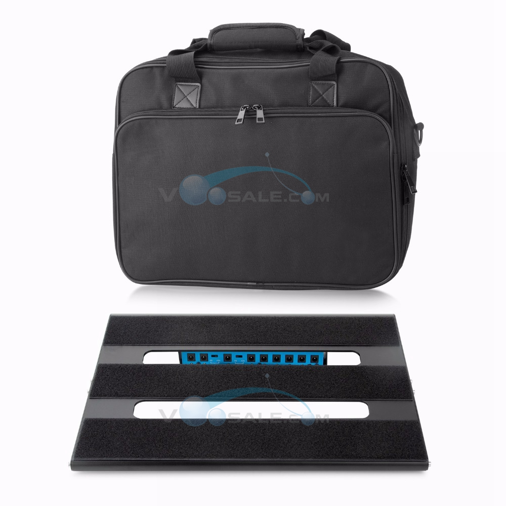 Caline CB 106 Guitar Effect Pedal Board Pure Herden Aluminum Alloy With Durable Bag Guitar Accessories Portable Pedalboard CB106-in Guitar Parts & Accessories from Sports & Entertainment    1