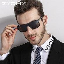 ZYOMY Rectangle Male Sun Glasses Shades Oculos de sol Classic Gafas Brand Design