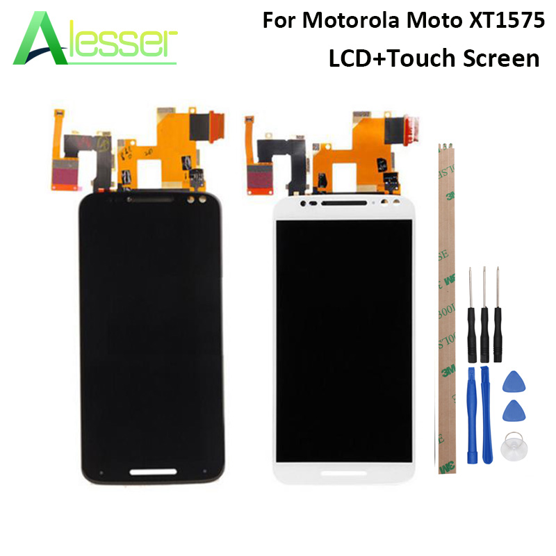 Alesser For Motorola Moto X Style Xt1575 Xt1572 Xt1570 LCD Display And Touch Screen Screen Digitizer Assembly Replacement +ToolsAlesser For Motorola Moto X Style Xt1575 Xt1572 Xt1570 LCD Display And Touch Screen Screen Digitizer Assembly Replacement +Tools