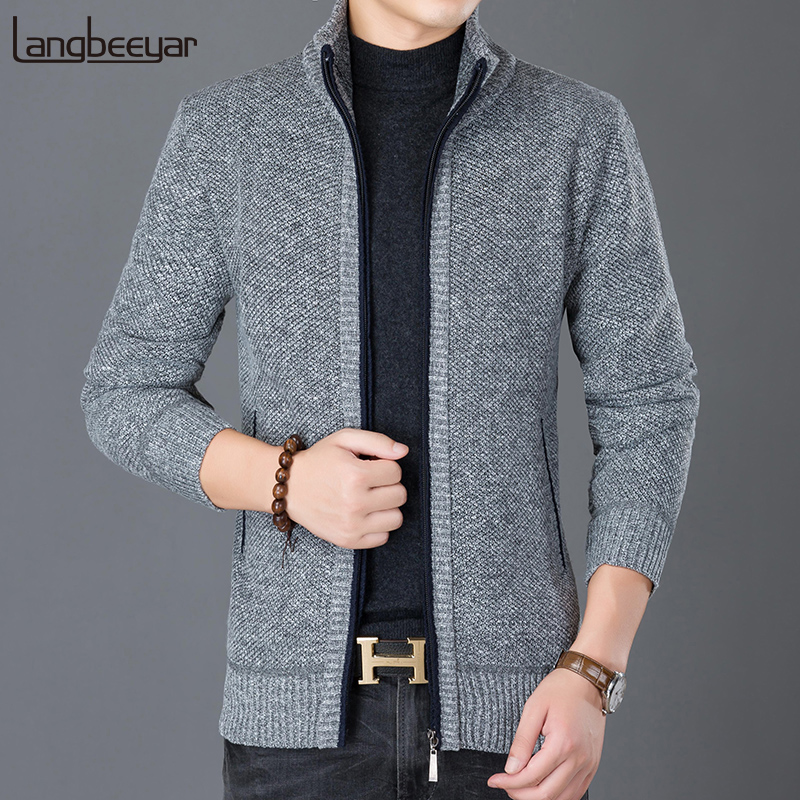 2020 New Fashion Wind Breaker Jackets Men Stand Collar Trend Street Style Overcoat Cardigan Autumn Casual Coat Mens Clothes