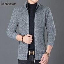 2020 nowych moda wiatrówka kurtki mężczyźni stoją kołnierz Trend Street Style płaszcz sweter jesień płaszcz na co dzień męskie ubrania