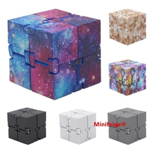 New Trend Creative Infinite Cube Infinity Cube Magic Fidget cube Office flip Cubic Puzzle anti stress