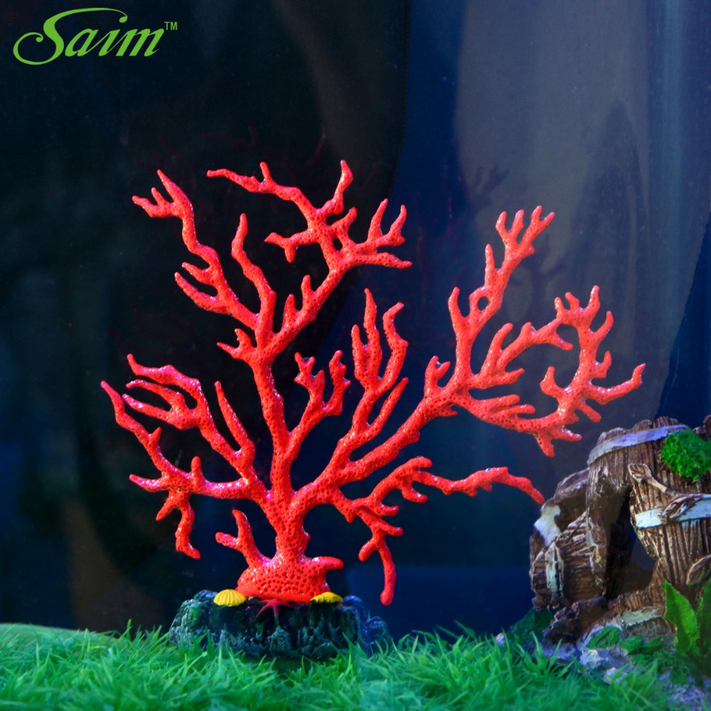 Saim New Aquarium Small Soft Coal Decorative Red Fish Tank Stones ...