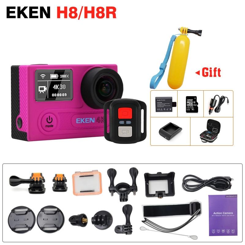 Full Accessory EKEN H8R H8 Action Camera VR360 Remote Controller Ultra 4K 30fps 2 0 Dual