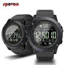 Спортивные Смарт часы для мужчин, профессиональные 5ATM водонепроницаемые цифровые часы с напоминанием о вызове и Bluetooth для телефонов iOS и Android