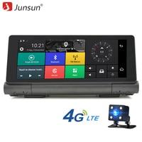Junsun E28 New 4G Car DVR GPS Camera 6 86 Android Navigation Dashcam Bluetooth Full HD