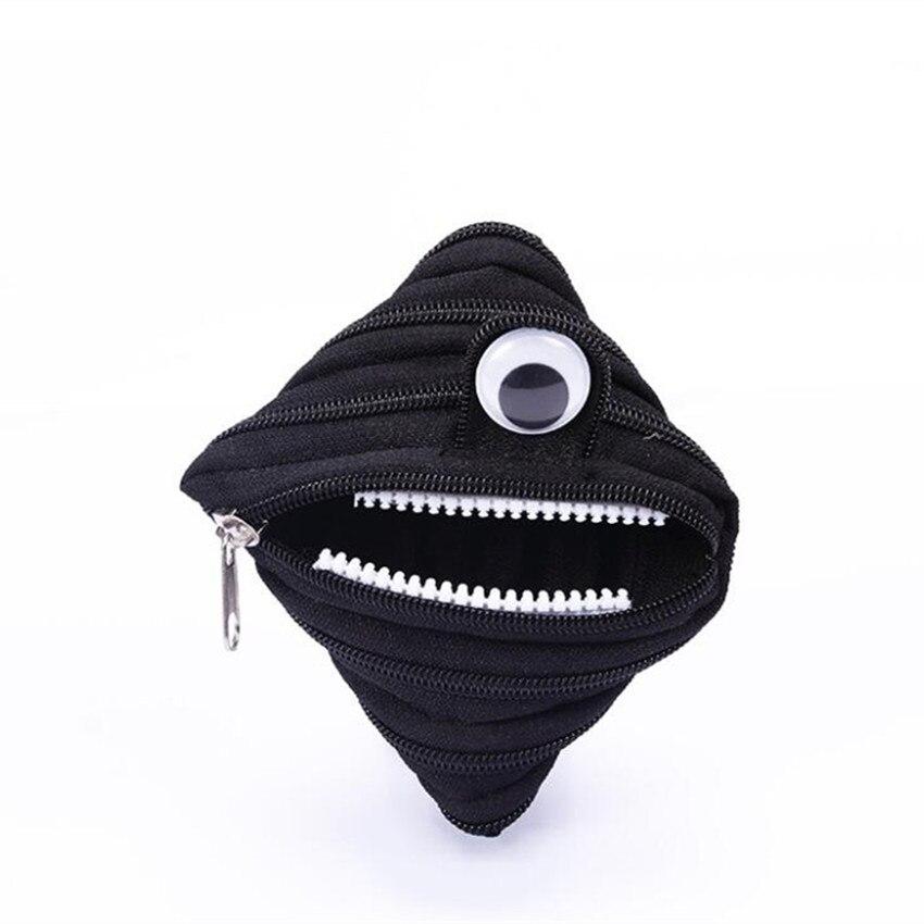 M105 Creative Zero Purse Small Monster Big Eye Zipper Bag Headset Zero Purse Women Student Gift Wholesale