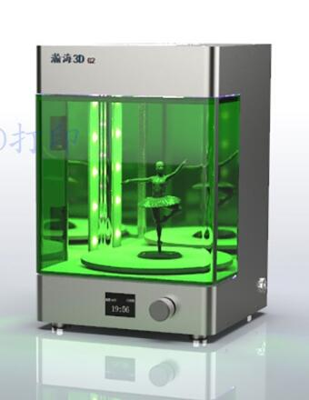 IGRARK Curing-Box 3d-Printer Uv-Rapid-Post Chamber Resin Led Rotary title=