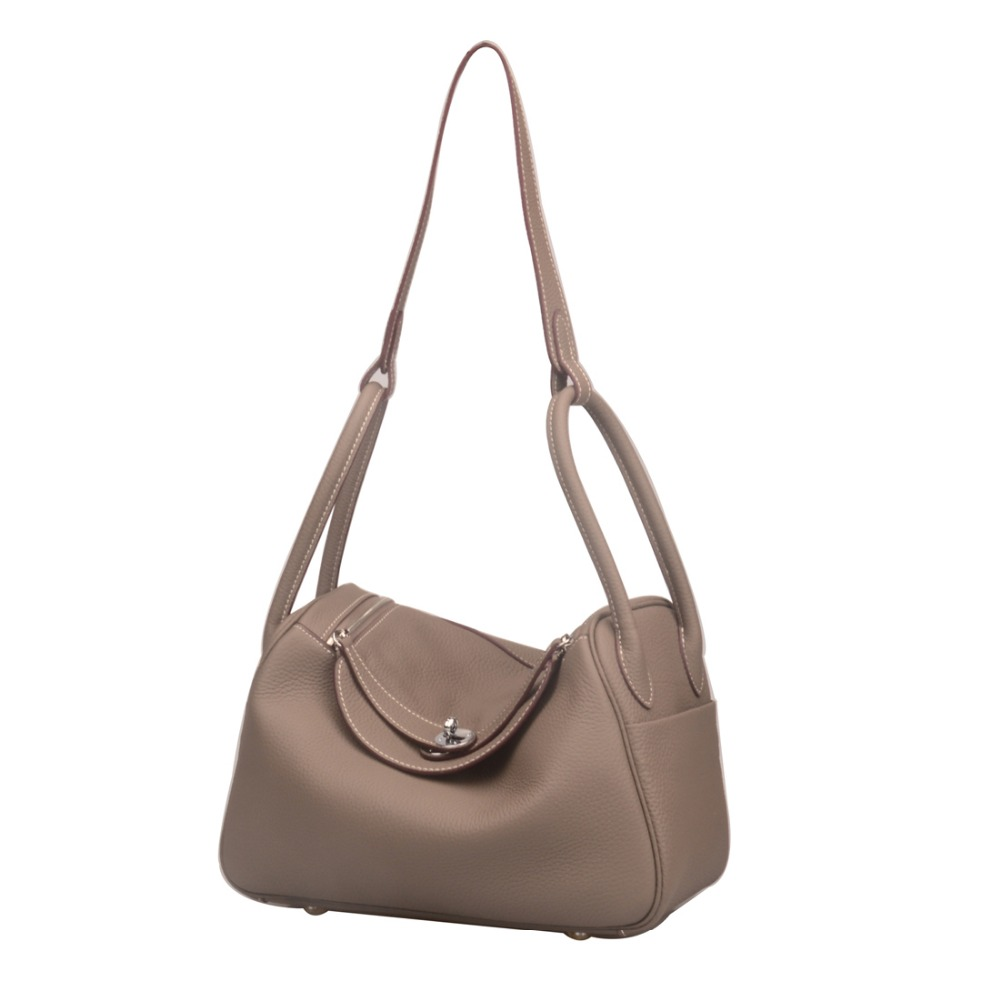 Ainifeel Women s Genuine Leather Hobo Shoulder Bag Everyday Purse-in  Shoulder Bags from Luggage   Bags on Aliexpress.com  03a46683acaba