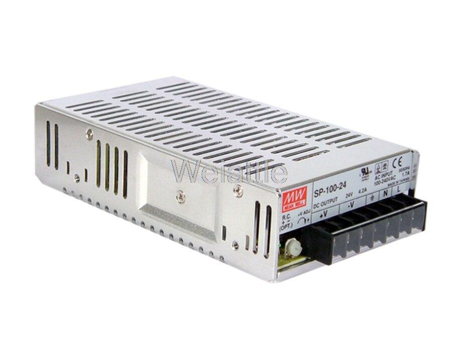 Moyenne bien original SP-100-48 48 V 2.1A meanwell SP-100 48 V 100.8 W sortie unique avec fonction d'alimentation PFC